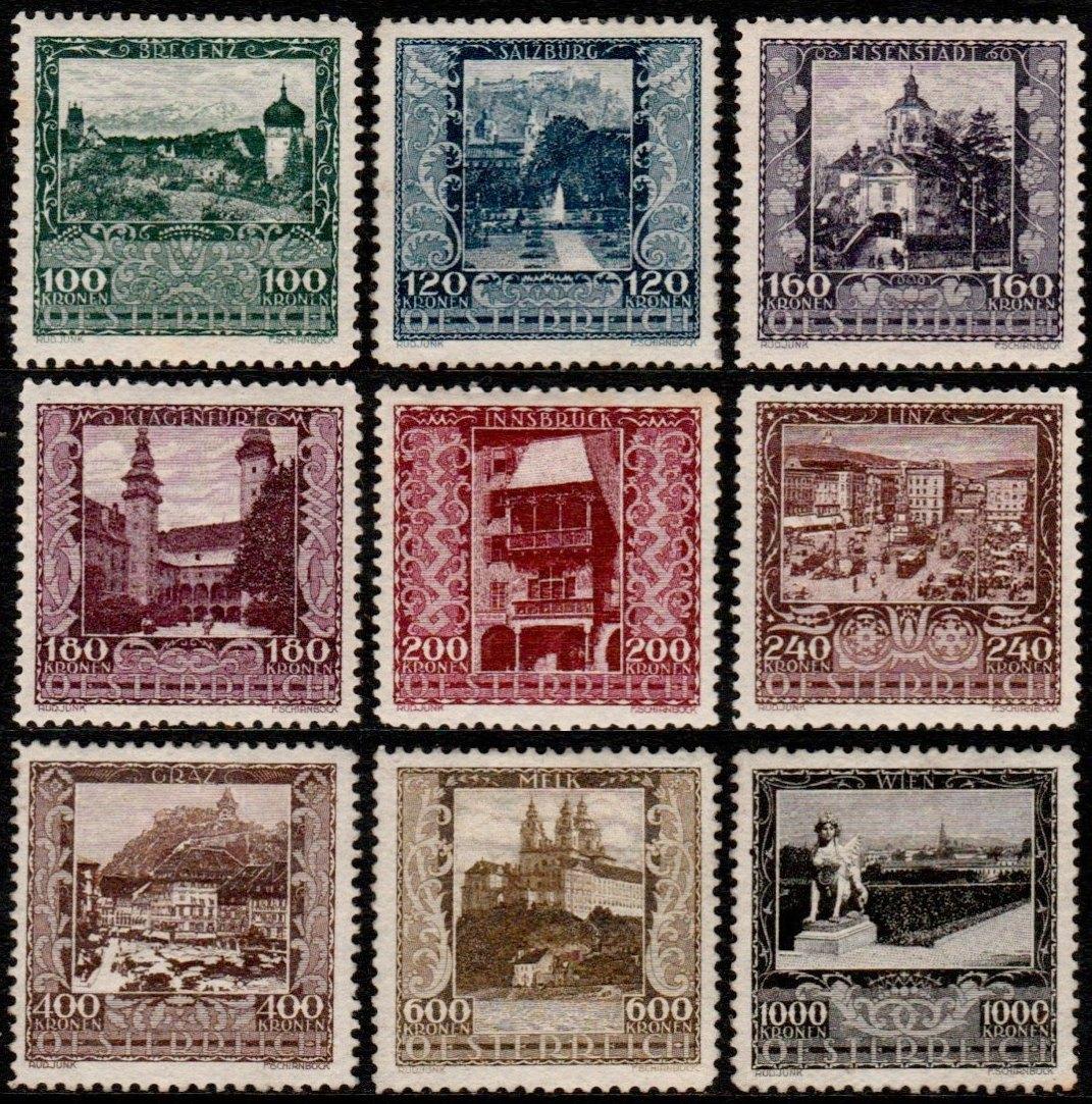 Austria Stamp Yvert 304 12